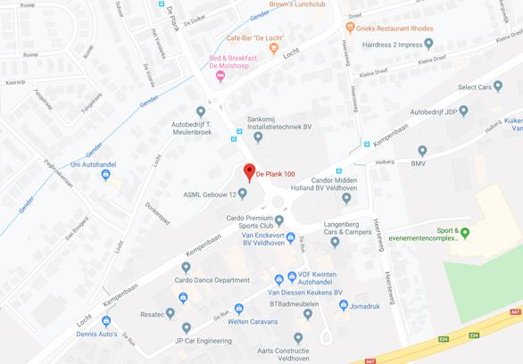Googlemap Veldhoven