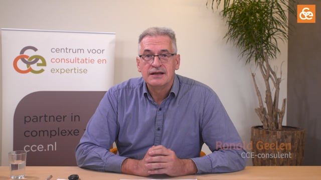 Webinar Ronald Geelen: Smenwerking rond probleemgedrag in de Thuiszorg